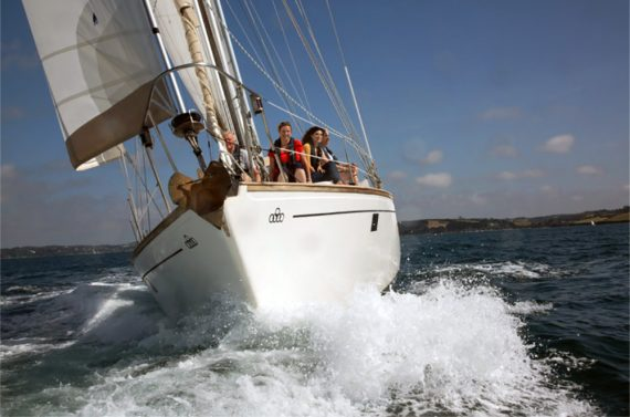 A Cornish Day Sail by the Falmouth based company Trysail