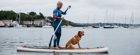 dog-friendly-hotels-cornwall-greenbank-hotel-falmouth-paddleboarding