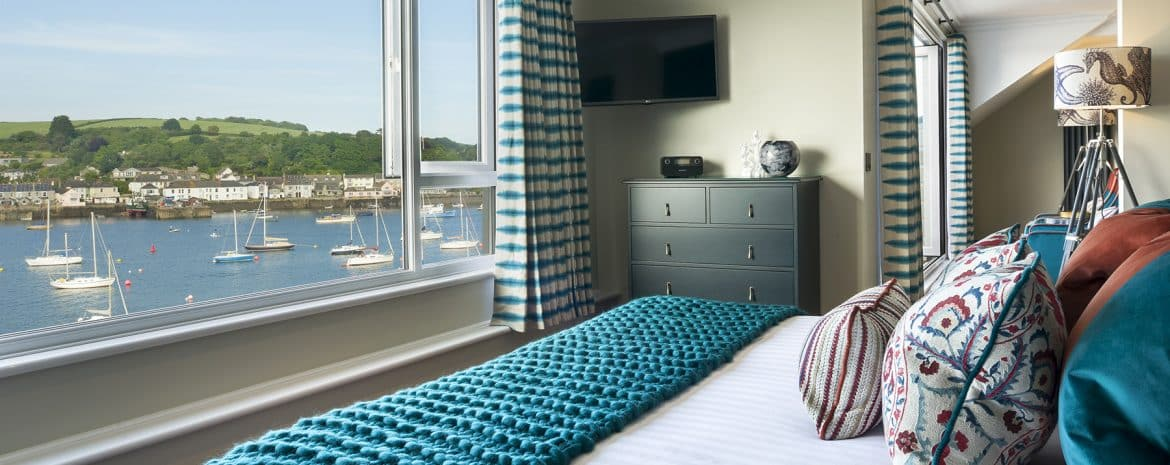 The Lookout - harbour view - greenbank hotel falmouth cornwall hotels -