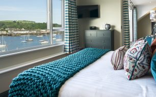 The Lookout - harbour view - greenbank hotel falmouth cornwall hotels