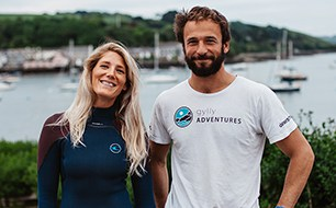 Meet Andy and Lauren from Gylly Adventures and SUP Yoga