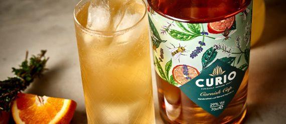 Cornish spirits - Curio gin -