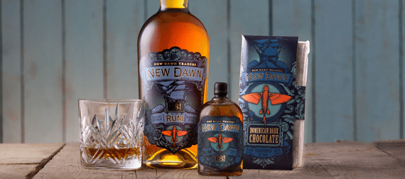 Cornish spirits - New Dawn rum