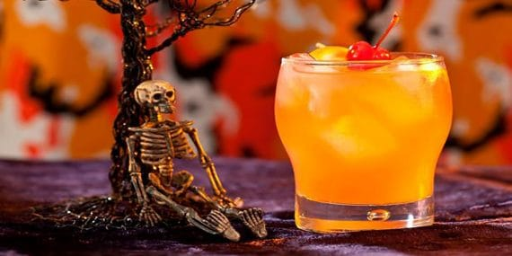 zombie-cocktail-greenbank-hotel-ghoulish-cocktail-treats