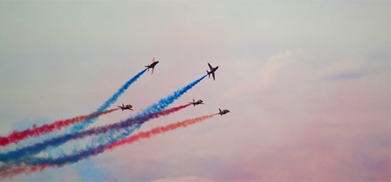 falmouth-week-red-arrows