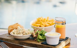 cornish-crab-lunch-at-the-waters-edge-restaurant-greenbank-hotel-falmouth-cornwall