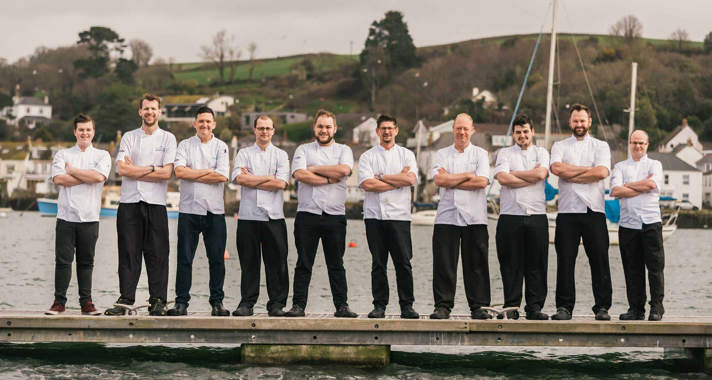 Places-to-Eat-in-Falmouth-greenbank-hotel-falmouth-waters-edge-chef-kitchen-team-cornish-chefs-restaurant