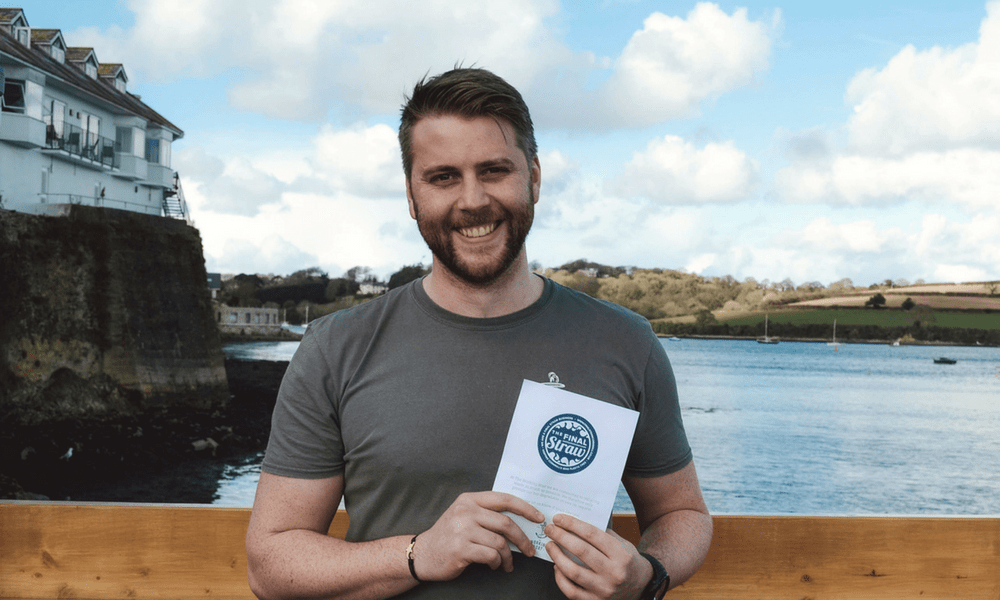 sustainability-manager-owen-working-boat-go-green-greenbank-hotel