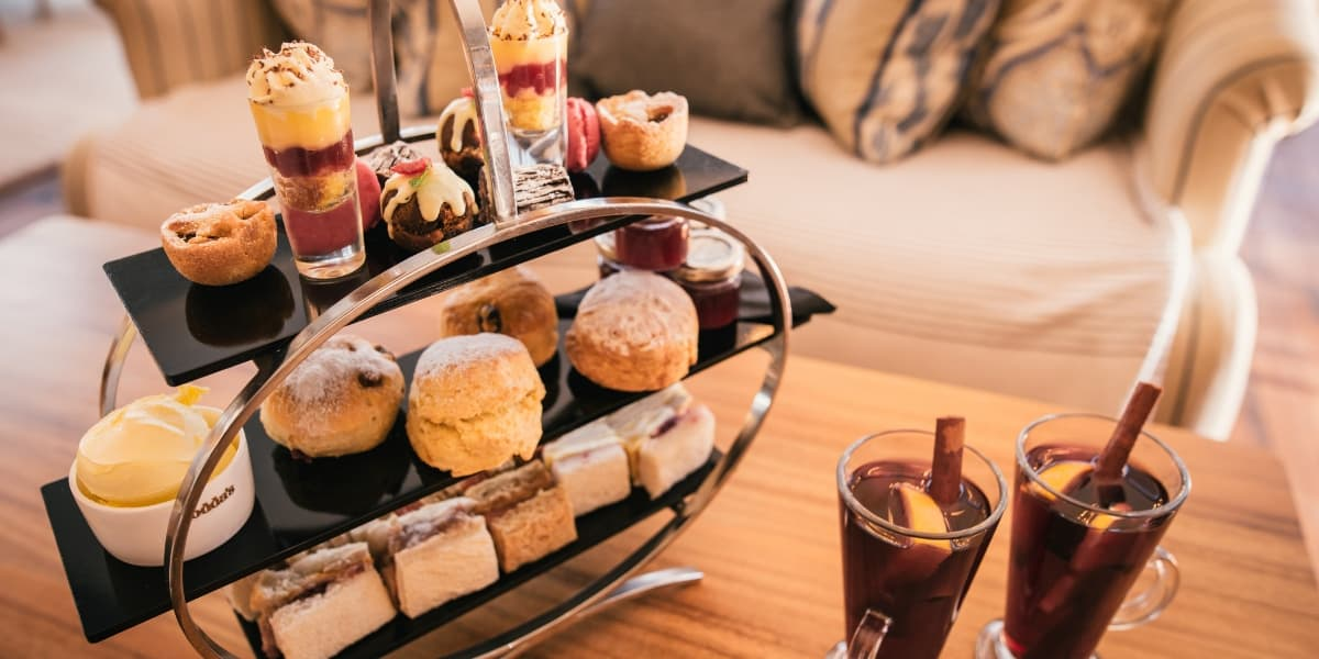 christmas afternoon tea cornwall festive afternoon tea greenbank hotel falmouth