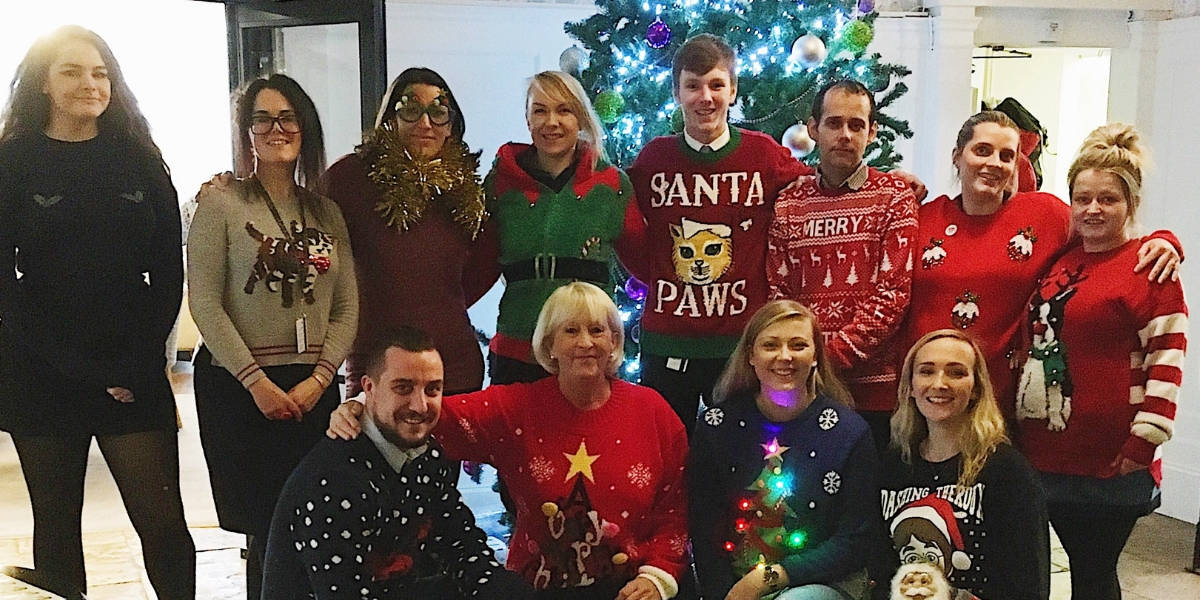 christmas jumper day Cornwall