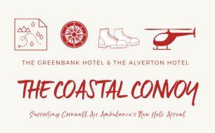 cornwall air ambulance - coastal convoy - greenbank hotel