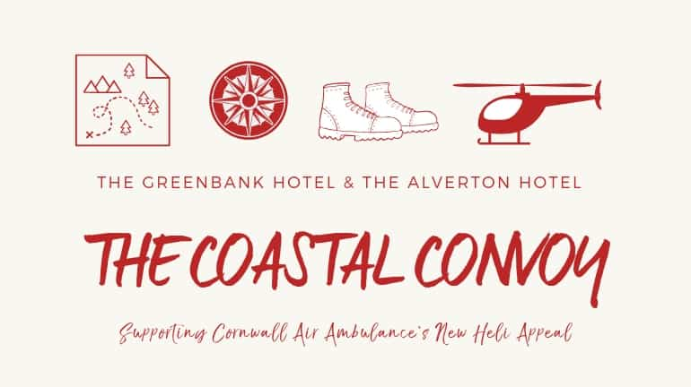 cornwall air ambulance - coastal convoy - greenbank hotel