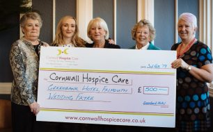 spring-summer-wedding-showcase-2019-£500-raised-cornwall-hospice-care-greenbank-hotel