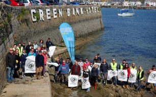 A very successful beach clean for Surfers Against Sewage