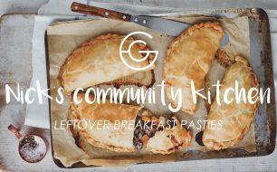 Nick's Community Kitchen: Leftover breakfast pasty recipe